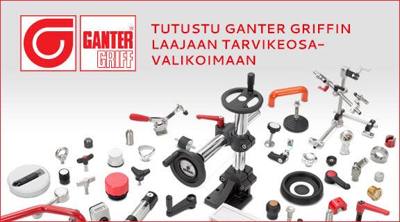 Ganter Griff koneenosat, tarvikeosat, vakio-osat