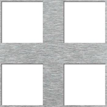 Reikälevy Neliö reikä C40 U60