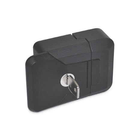 GN-936-Slam-latches-with-and-without-lock-SCL-lockable-same-lock-SW-black-RAL-9005-textured-finish
