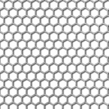 Reikälevy Hunajakenno H6 T6,7 90°