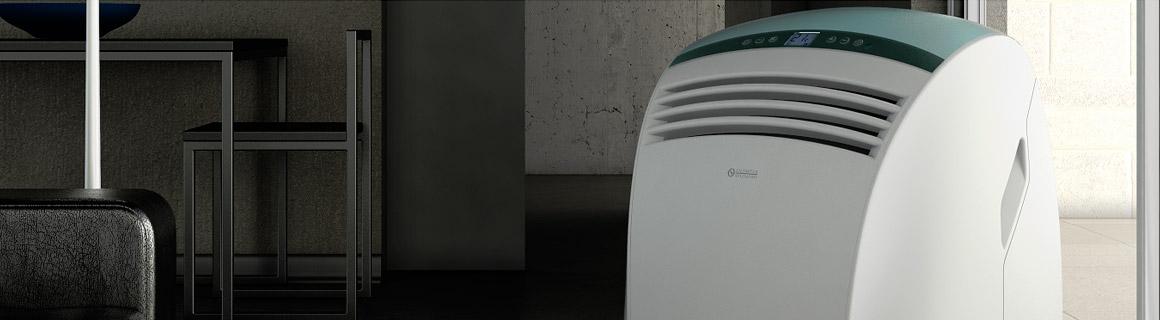 Dolceclima siirrettävät ilmanviilentimet tarjoavat kotiin tai konttoriin tehokasta laatua ja tyylikästä muotoilua.
