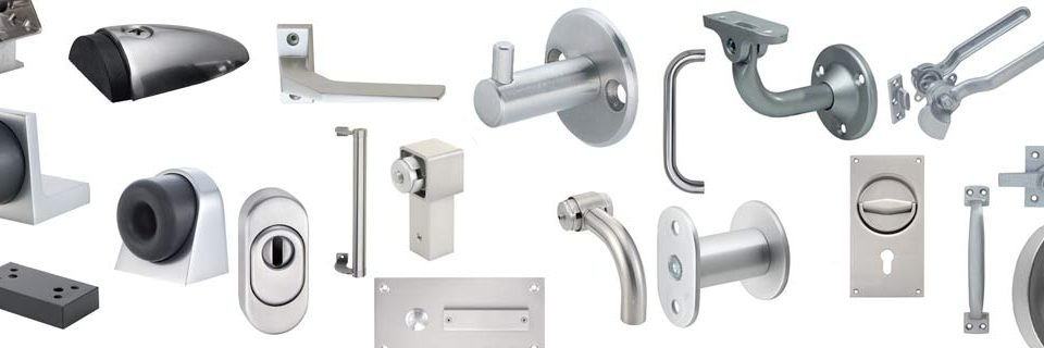 ovistopparit, kaiteet, ovenkahvat, upotettavat vetimet, lukot