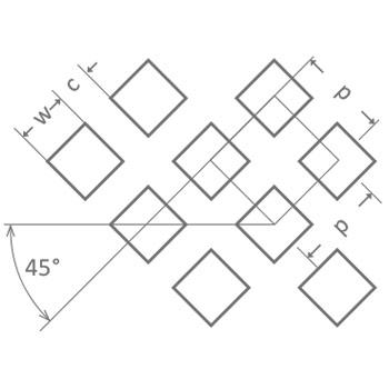 Neliöreikä C