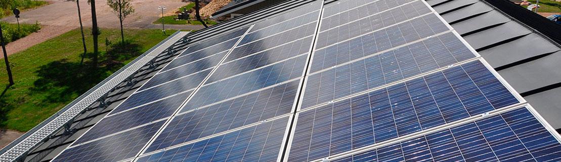 Aurinkopaneeli voimalat