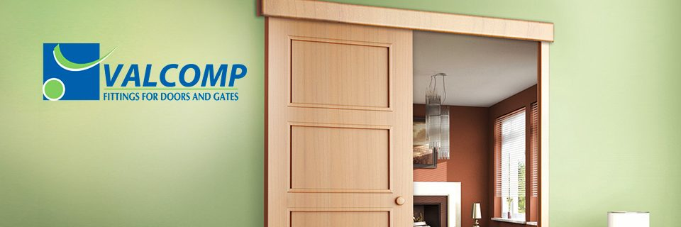 Valcomp liukukiskojärjestelmät oville ja kaapeille