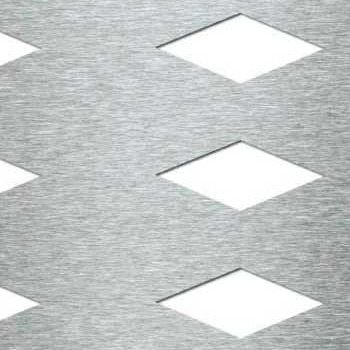 Mevaco reikälevy Creative Line rhomb aligned