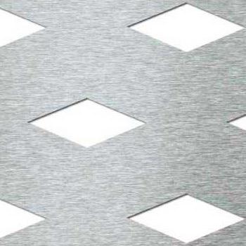 Mevaco reikälevy Creative Line rhomb staggered