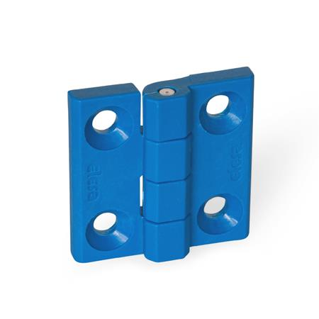 GN-237.1-Hinges-detectable-FDA-compliant-plastic-A-2×2-bores-for-countersunk-screws-VDB-visually-detectable