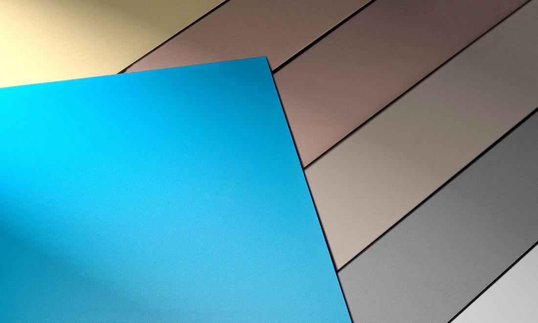 Struktur Metall lasikuulapuhalletut levyt