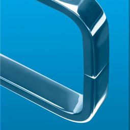 Struktur Metall peililevy SkyBlue