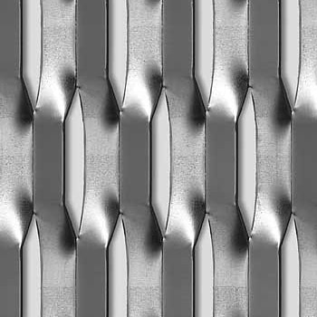 Mevaco levyverkko hexagonal 100x34x15