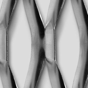 Mevaco levyverkko hexagonal 200x70x21