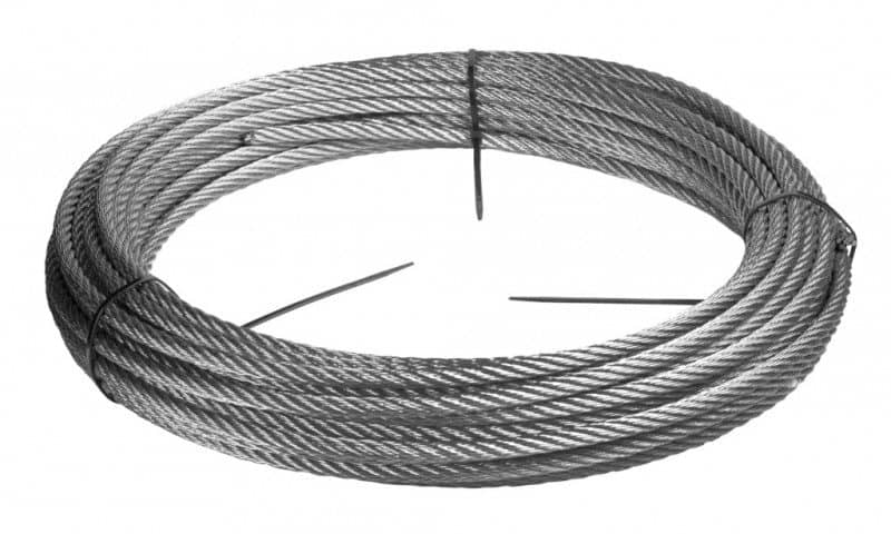 o 2 mm stainless steel wire rope 316 064kg 40 meters stainless steel v4a food contact approved