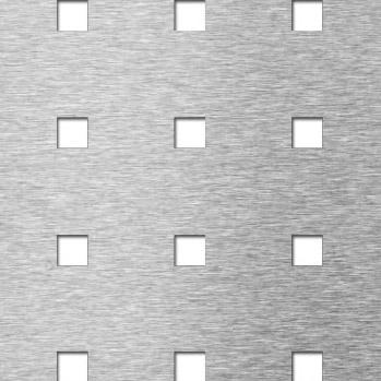 MEVACO reikälevy neliö reikä C10 U38