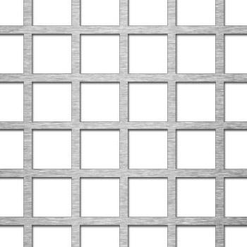 MEVACO reikälevy neliö reikä C20 U24