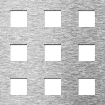 MEVACO reikälevy neliö reikä C20 U40