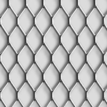 MEVACO levyverkko Rhomb 43x20x2,5